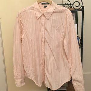 Ralph Lauren button down ladies shirt size large